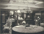 Interior view of one of the quarters on the bark ELGENSHIRE, Washington, ca. 1904.