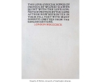 The love-lyrics & songs of Proteus, by Wilfrid Scawen Blunt, with the Love-sonnets of Proteus...