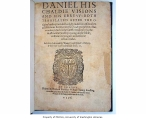 Daniel his Chaldie visions and his Ebrevv : both translated after the original: and expounded...