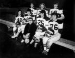 Mothers Univac Football Team after a game at Hamlin Park in Seattle, Washington, November 4, 1975