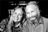 Willi Unsoeld smiling with his daughter, Nanda Devi, in Seattle, Washington, March 31, 1976