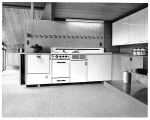 Kitchen of Paul Thiry's weekend home in the Kittitas Valley, built in 1956