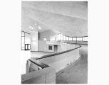 Multipurpose Building interior at Mercer Island High School, ca. 1960