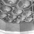 Federal Office Building lobby ceiling, Seattle, ca. 1970