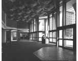 Federal Office Building lobby,  Seattle, ca. 1970