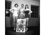 Contestants in Miss Psywar contest, n.d.