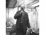 Guy Anderson in his studio, La Conner, ca. 1965