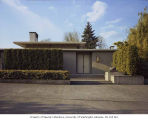 Paul R. Smith residence exterior, Seattle, 1969