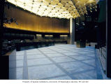 Bank of California lobby and counter, Seattle, 1974