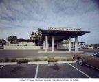 Doubletree Inn entrance and parking lot, Scottsdale, Arizona, n.d.