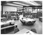 Children in reading area of North East branch of the Seattle Public Library, ca. 1954