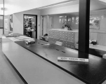 Front desk at North East branch of the Seattle Public Library, ca. 1954