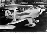 A 1971 Pitts S-1C Special on display in the Sand Point Naval Station's Building 33 for the 50th...