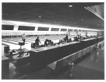 Bowling alley interior, n.d.