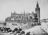 Cathedral of Alcazar, Seville, Spain, ca. 1870s