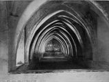 Baths of Maria of Padilla archways, Seville, Spain, ca. 1870s