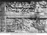 Detail of relief, Brorbodur Temple, ca. 1921