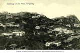 Victoria Peak showing mansions and other buildings, Hong Kong, ca. 1909
