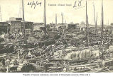 Businesses and boats along the Grand Canal, Tianjin, China, ca. 1909