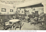 Lounge in Astor House hotel, Shanghai, China, ca. 1908