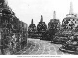 Central stupa of the Brorbodur Temple, ca. 1921