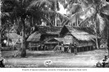 Village scene showing residential dwellings, Malaysia, n.d.