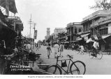 Shopping district on James St., Andhra Pradesh, Secunderabad, ca. 1920