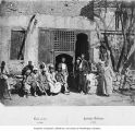 Arab cafe, Cairo, ca. 1865