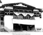 Library at Buddhist monastery, Tawang,  Northeast Frontier Agency, India, ca. 1954