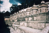 Pashupatinath ghats and royal tombs, Kathmandu, Nepal