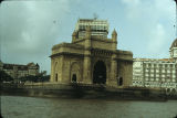 Queen's Necklace arch, or Gateway of India, Mumbai, India, 1979