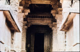Harihara Temple 3 entryway, including ceiling and doorway, Osian, Rajasthan, India, ca. 8th...