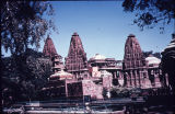 Cenotaphs of former Maharajas in Mandore near Jodhpur, Rajasthan, India, ca. 18th century A.D.