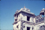 Close up of Padmini's Palace tower, Chittorgarh, Rajasthan, India