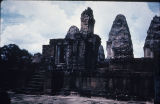 East Mebon temple in Angkor, Cambodia, ca. 10th century A.D.