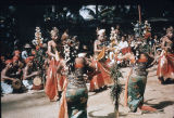 Balinese dance drama, Indonesia, ca. 1973