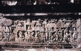 Relief panel from third gallery of Borobudur Stupa, Central Java, Indonesia, ca. 8th century A.D.