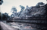 Main base of Baphuon temple terrace, Angkor Thom, Cambodia, ca. mid 11th century A.D.