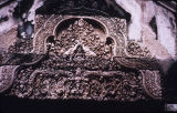 Ornate tympanium from Banteay Srei temple gateway, Angkor, Cambodia, ca. 10th century A.D.