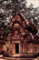 Northern library of Banteay Srei temple, Angkor, Cambodia, ca. 10th century A.D.