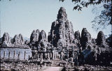 Bayon Khmer temple, viewed from north, Angkor, Cambodia, ca. 12th-13th century A.D.