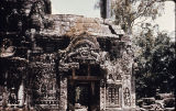 Entrance gateway to Ta Prohm temple in Angkor, Cambodia, ca. 12th-13th century A.D.