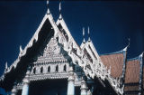 Temple roof peak in Wat Bemchamabophit, Bangkok, Thailand, ca. 19th-20th century A.D.