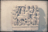 Gandharan relief depicting Buddha's Great Departure, ca. 3rd century A.D.