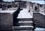 Ruins of a lane separating houses, Mohenjo daro, Indus Valley, ca. 2nd millenium B.C.