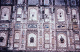 Inlaid and painted exterior wall panels, from Lahore Fort, Punjab Pakistan, ca. 16th-17th...