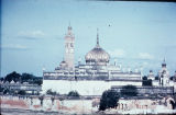 Distant view of Asfi Mosque in Bara Imambara, Lucknow, Uttar Pradesh, India, ca. 18th century A.D.