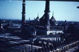 Elevated view of Asfi Mosque in Bara Imambara, Lucknow, Uttar Pradesh, India, ca. 18th century A.D.