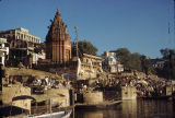 Ghats on the Ganges River, Varanasi, Uttar Pradesh, India