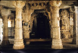Columns from interior of Tejpal Temple, Mount Abu, Rajasthan, India, ca. 13th century A.D.
